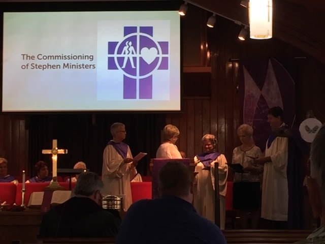 Commissioning Stephen Ministers